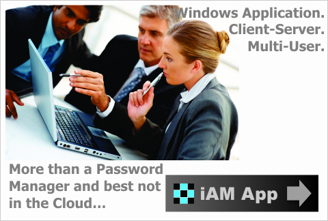 iAM App - important Accounts Manager